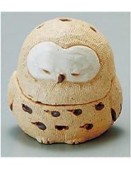 香炉 蔵ふくろう 香炉(大) [H10.5cm] HANDMADE プレゼント ギフト 和食器 かわいい インテリア