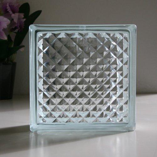 ガラスブロック クリアラティス 6個セット