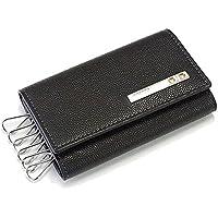 Cartier 【カルティエ】 L3000775 ブラック 6連キーケース SANTOS