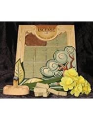 Fir Balsam Wood Incense - 100 Bricks Plus Burner - Incienso De Santa Fe, New, Fr