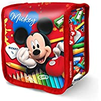 Karactermania Mickey Mouse Crayons-Thermal Snack School Bag, 15 cm, Red