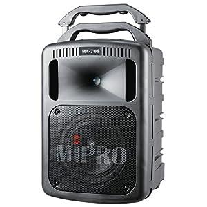 MIPRO 2.4G ワイアレス パワード スピーカー CD/USB録再 MA-708PADR+2.4G