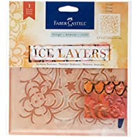Faber - Castell Ice Layers–粘着テクスチャステンシル