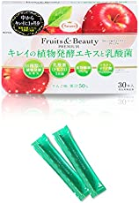 たらみ Fruits&Beauty PREMIUM キレイの植物発酵エキスと乳酸菌(1箱 30本入)