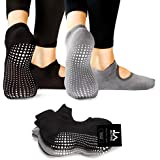 LA Active Grip Socks - Yoga Pilates Barre Non Slip - Ballet