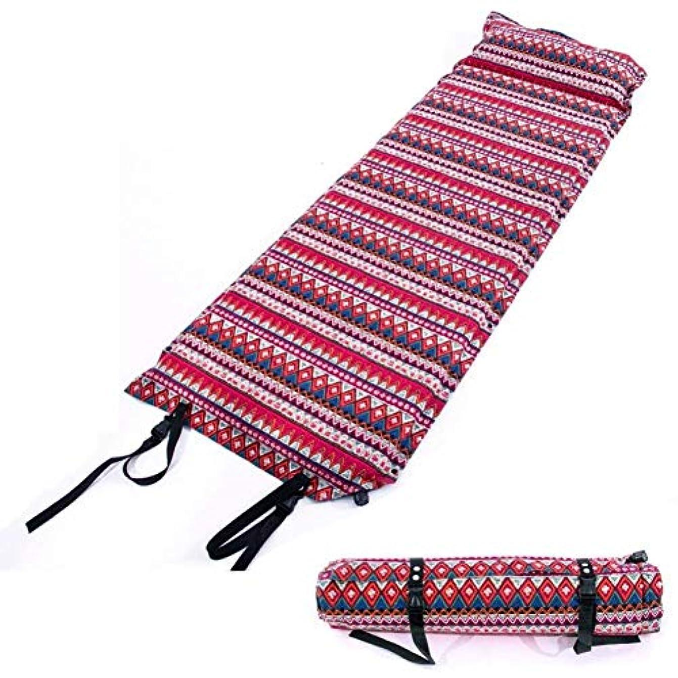 小学生シエスタソーシャル自己膨脹式マットレスのキャンプ、膨脹可能なキャンプ用ベッドの睡眠のマットの軽量の泡の睡眠のパッド袋
