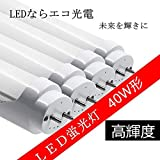 LED蛍光灯 直管 40W形 1198mm グロー式工事不要 昼光色 (40W形 昼光色)
