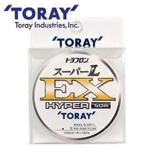 東レ(TORAY) ハリス トヨフロン スーパーL・EX ハイパー フロロカーボン 50m 1.5号 ナチュラル