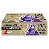 Victor  S-VHSビデオテープ 120分 2巻 ST-120XGK2