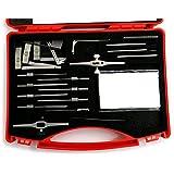 Moli Anti-Theft Lock Quick Opening Tool,Professional Locksmith Tools Lock Pick Set