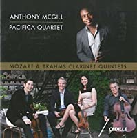 Mozart/ Brahms: Clarinet Works [Anthony McGill, Pacifica Quartet] [Cedille: CDR 90000 147] by Anthony McGill (2014-06-26)
