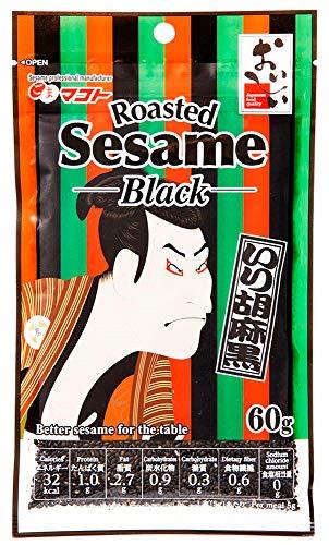 マコト いり胡麻 黒 (浮世絵) 60g ×10個