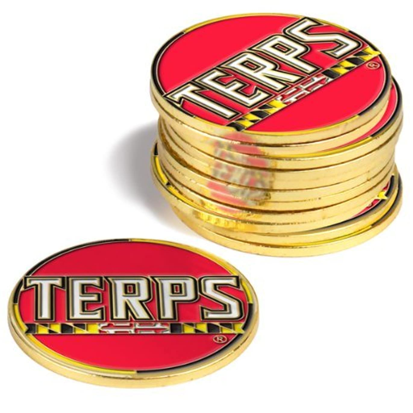 とても多くのハロウィンのヒープMaryland Terrapins Golf Ball Markers ( 4 Pack )