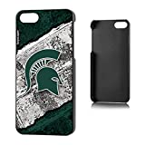 Michigan State Spartans iPhone 5& iPhone 5sスリムケースレンガNCAA Keyscaper