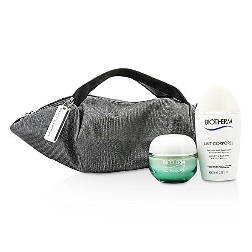 バス練る磁石ビオテルム Aquasource & Body Care X Mandarina Duck Coffret: Cream N/C 50ml + Anti-Drying Body Care 100ml + Handle Bag...