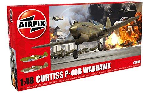 エアフィックス 1/48 カーチス P40B プラモデル X5130の詳細を見る