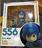Anime Figure Nendoroid 556 Mega Man Rockman Capcom Rock Man PVC Action Figure Collection Model Toy Doll Gifts