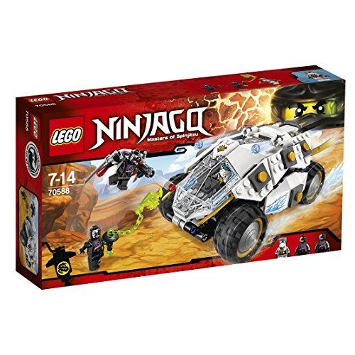 レゴ (LEGO) ニンジャゴー チタン式パワーモービル 70588