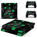 Linyuan 安定した品質 Multi-style Skin Sticker Cover for PlayStation 4 PS4 Console+Controllers