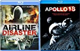 Apollo 18 & Airline Disaster 2 Pack Blu Ray in the Air & Space Mission Set