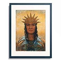 George Russell 「Archangel.」 額装アート作品