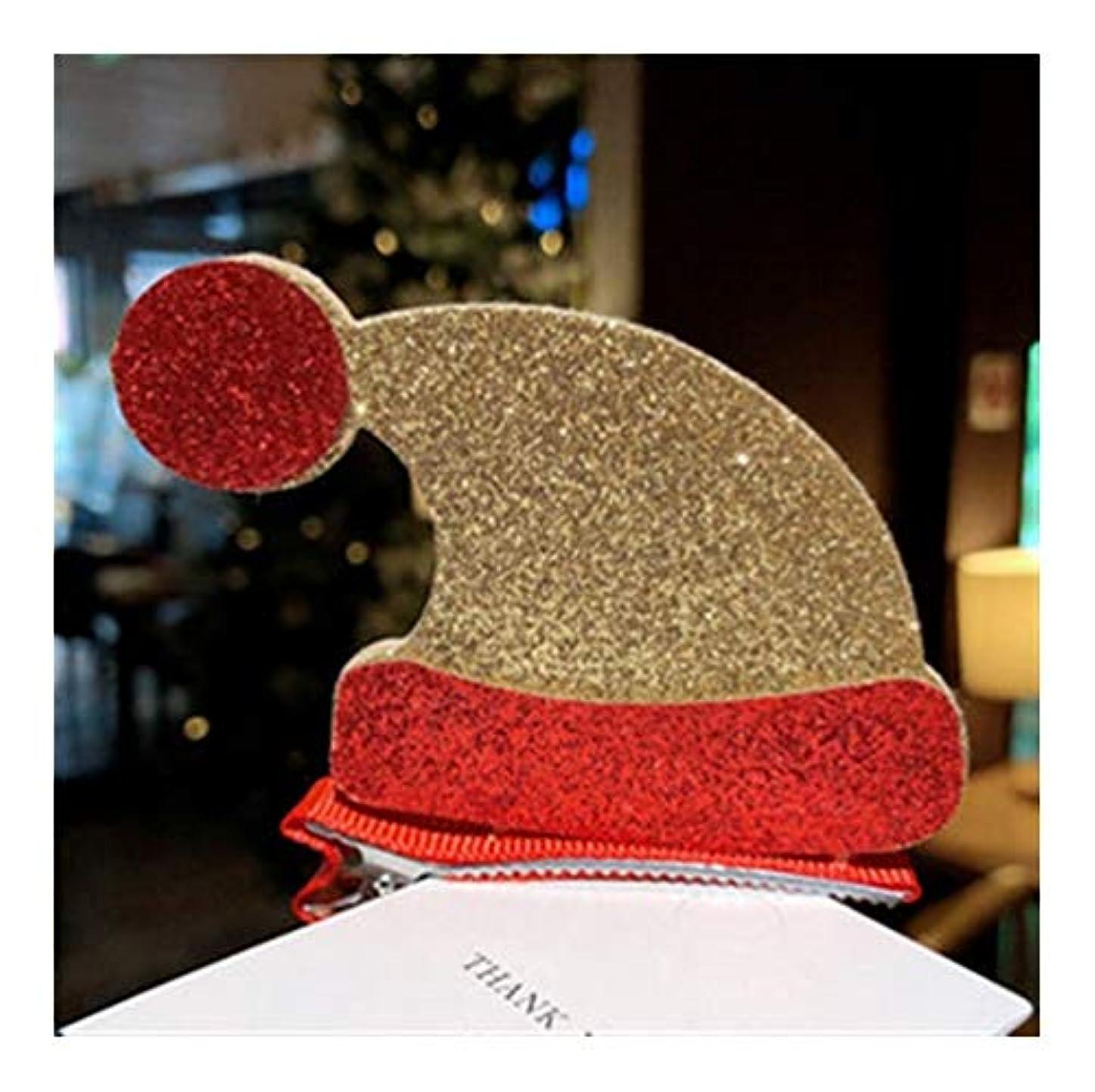 変形歯書き込みクリスマスの子供のヘアピンは、(利用可能な様々なスタイルを)ヘアピン痛い毛前髪クリップ王女クリスマスの飾り頭飾りかわいい女の子のヘアアクセサリーをしないでください (Size : B)