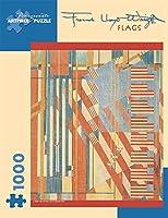 Frank Lloyd Wright Flags 1000pc Jigsaw Puzzle [並行輸入品]