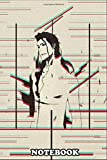 """Notebook: Bleach Sosuke Aizen , Journal for Writing, College Ruled Size 6"""" x 9"""", 110 Pages"""