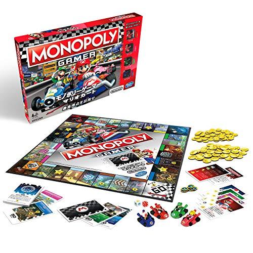 ハズブロ ボードゲーム モノポリー ゲーマー マリオカート E1870 正規品
