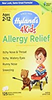 Hylands Allergy Relief 4 Kids, 125 Tabs by Hylands