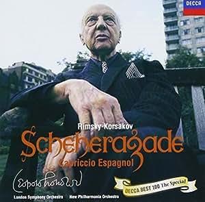 R.コルサコフ:交響組曲「シェエラザード」/スペイン奇想曲