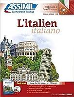L'Italien Book + 4 Audio CDs (Sans Piene)