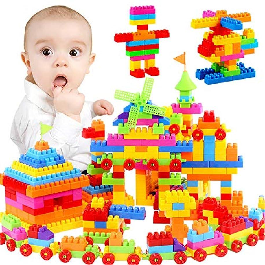 クローン邪魔ジーンズ知育玩具 子供のおもちゃの誕生日プレゼントのビルディングブロック知性玩具セット(110個の袋)を学習 数字 パズル 型はめ 幼児
