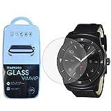 LG G Watch w110スクリーンプロテクター、VIMVIP ®プレミアム強化ガラススクリーンプロテクターフィルムガードfor Smart LG G Watch R ..