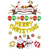 クリスマス飾り付け バルーンセット 装飾 壁飾り クリスマス飾り アルミバルーンセット 装飾 豪華 飾り付け 風船 パーティー 学園祭 デコレーション バーKTV会場の装飾 (2種類)