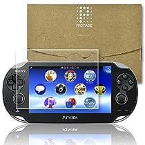 PROTAGE PlayStation Vita フィルム PCH-1000 シリーズ専用 極薄 液晶保護 硬度9H 0.26mm 日本製素材 旭硝子 PSVita 極薄 ガラスフィルム