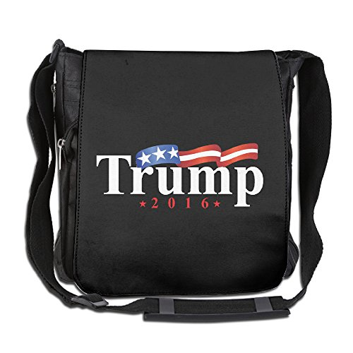 FreedomHip メッセンジャーバッグ ショルダーバッグ 斜めがけ アウトドア Trump 米大統領 ドナルド・トランプ 祝い アメリカ旗 正方形