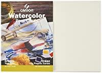 Canson Customizable Blank Watercolor Paper Postcards, 140 Pound, 5 x 7 Inch, 15 Card Set [並行輸入品]