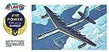 アトランティスモデル 1/181 アメリカ空軍 B-36 ジェットプロップ 爆撃機 プラモデル ATLAMCH205