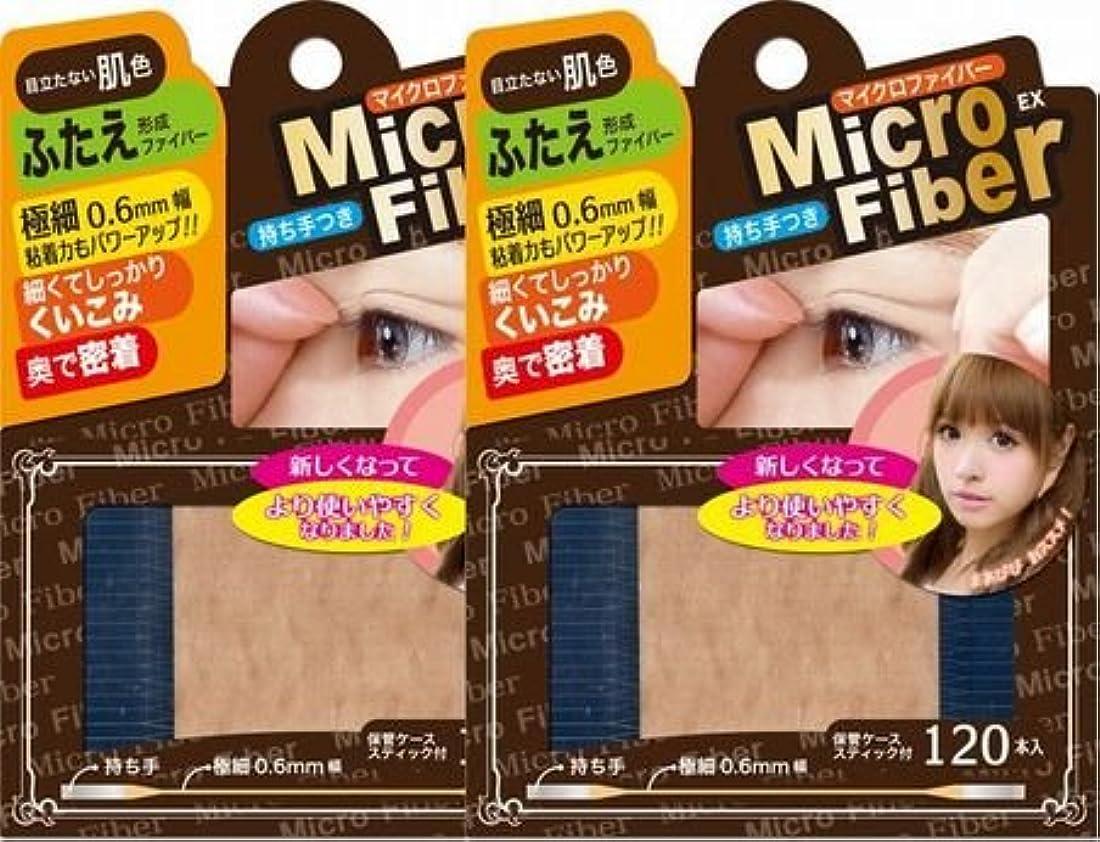 食堂炎上アナログビーエヌ マイクロファイバーEX ヌーディ(肌色) 120本 NMC-02 2個セット (2)