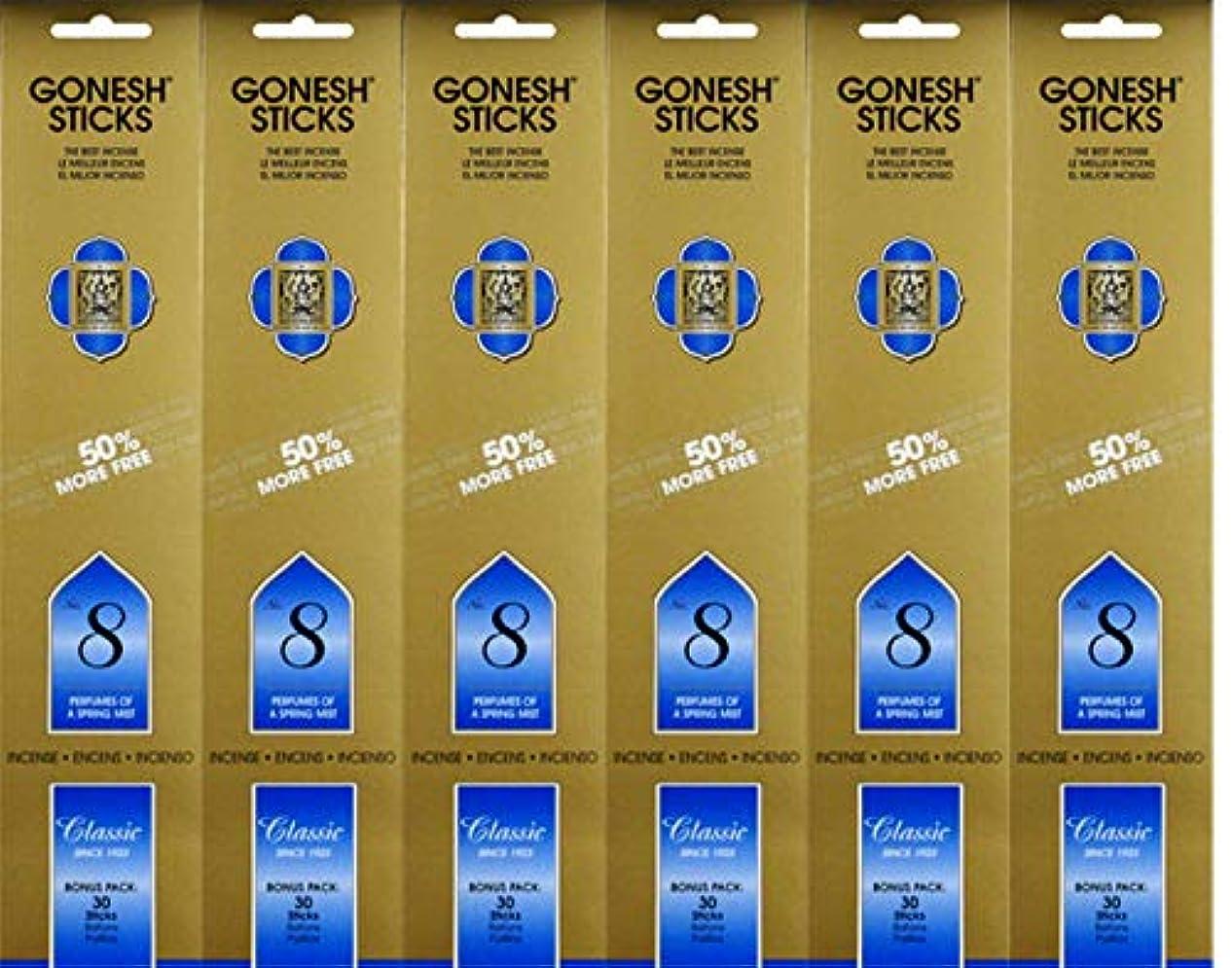 おんどり道路体操Gonesh #8 Bonus Pack 30 sticks ガーネッシュ#8 ボーナスパック30本入 6個組 180本