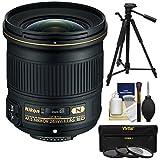 Nikon 24mm f / 1.8g af-s Ed Nikkorレンズ3( UV / CPL / nd8)フィルタ+三脚+キット
