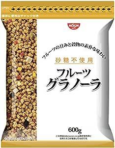 【Amazon.co.jp限定】 日清シスコ 砂糖不使用フルーツグラノーラ 600g