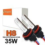 Engync 35W H8 6000K対応 HIDバーナー Hi/Low セラミックコア交換用キセノン電球 高速点灯