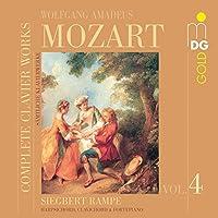Wolfgang Amadeus Mozart, Complete Clavier Works Vol.4 by SIEGBERT RAMPE (2006-08-22)