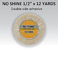 No Shine Bonding Double Sided Tape Walker 1/2 X 12 Yards by Walker Tape