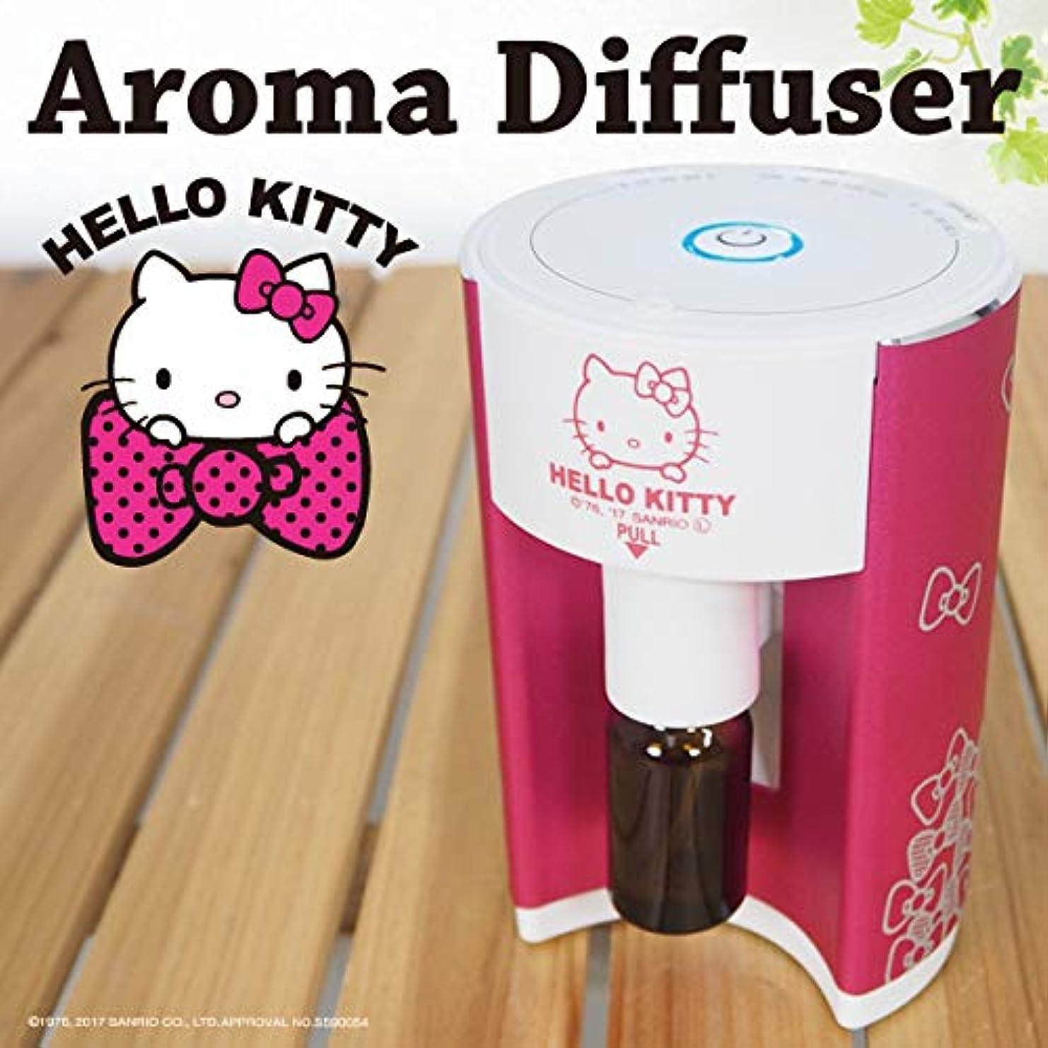 HELLO KITTY ハローキティ SANRIO サンリオ ネブライザー式 アロマディフューザー 水を使わない シンプル スマート アロマオイル