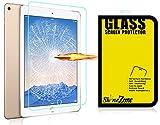 【ShineZone】Apple iPad Air 2 (2014) 専用強化ガラスフィルム 日本産の高品質ガラス採用 0.3mm 超薄型.表面硬度9H・飛散防止処理・ 高光沢 ・耐衝撃・防指紋保護シール