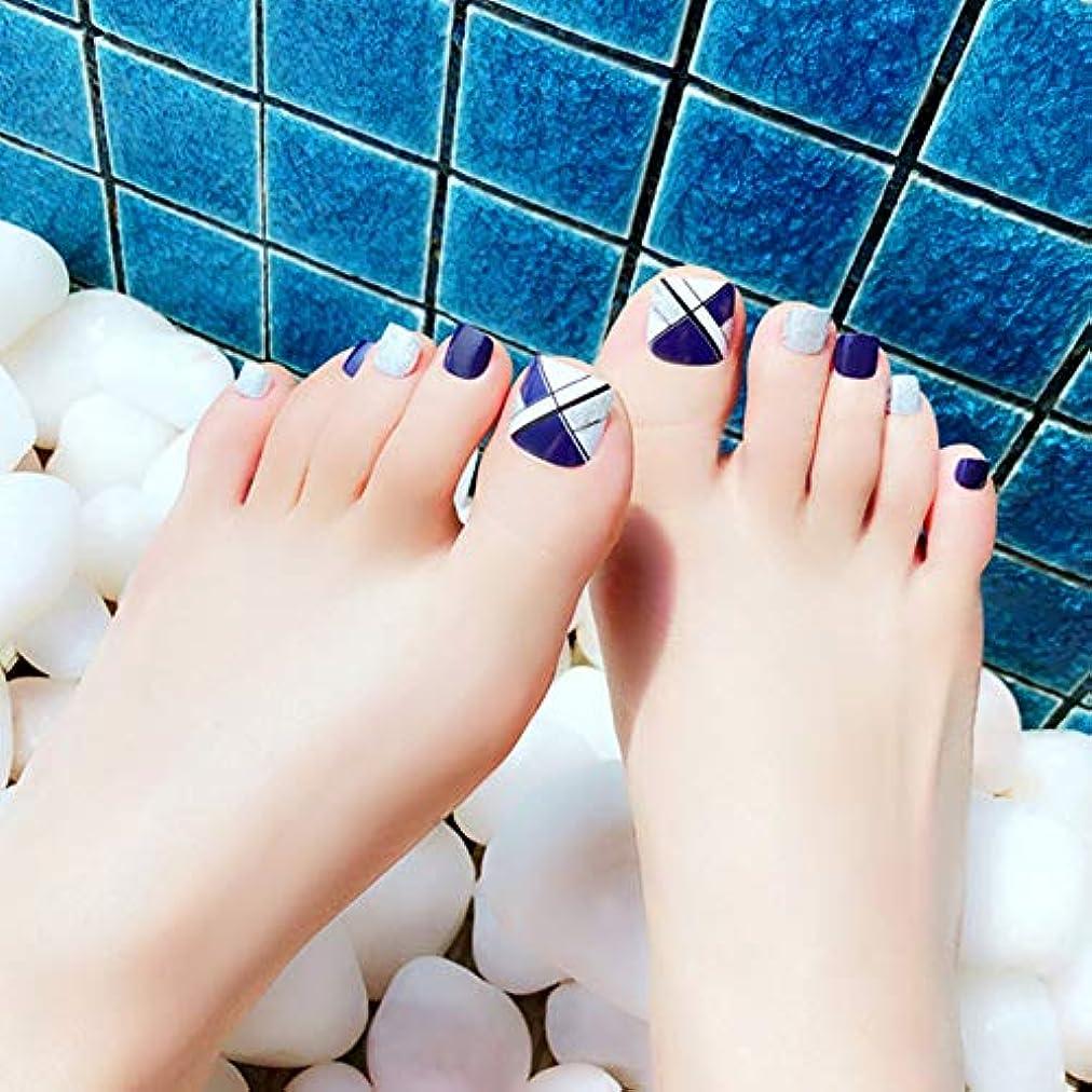影響する講堂黙認するHuangHM 小さいな足の小指にも最適 つけ爪 付け爪 ジェルネイル ネイルアートフットタイプネイルチップ 24枚入り12サイズ各2枚 足用フットチップ ペディキュア フットネイルチップ
