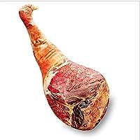 Ammon Lowen 鶏モモ 抱き枕 美味 鶏の太腿型 リアル 食べ物 ふわふわ クッション 子供 プレゼント 女 誕生日 ぬいぐるみ (70cm, ベーコン 鶏の太腿)
